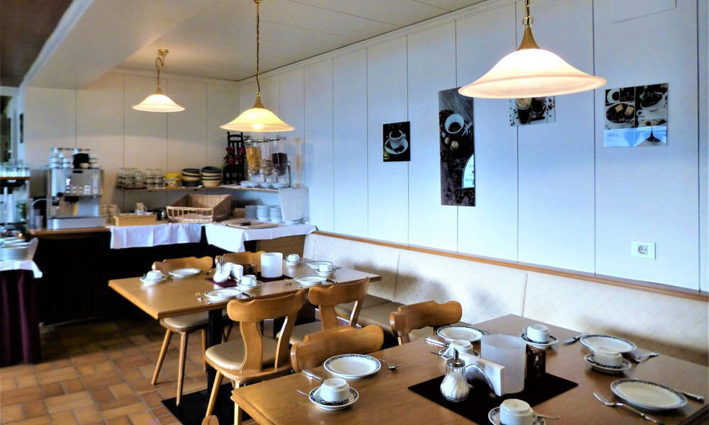 Frühstücksbuffet im Gasthof Kircher Sepp in Barbian